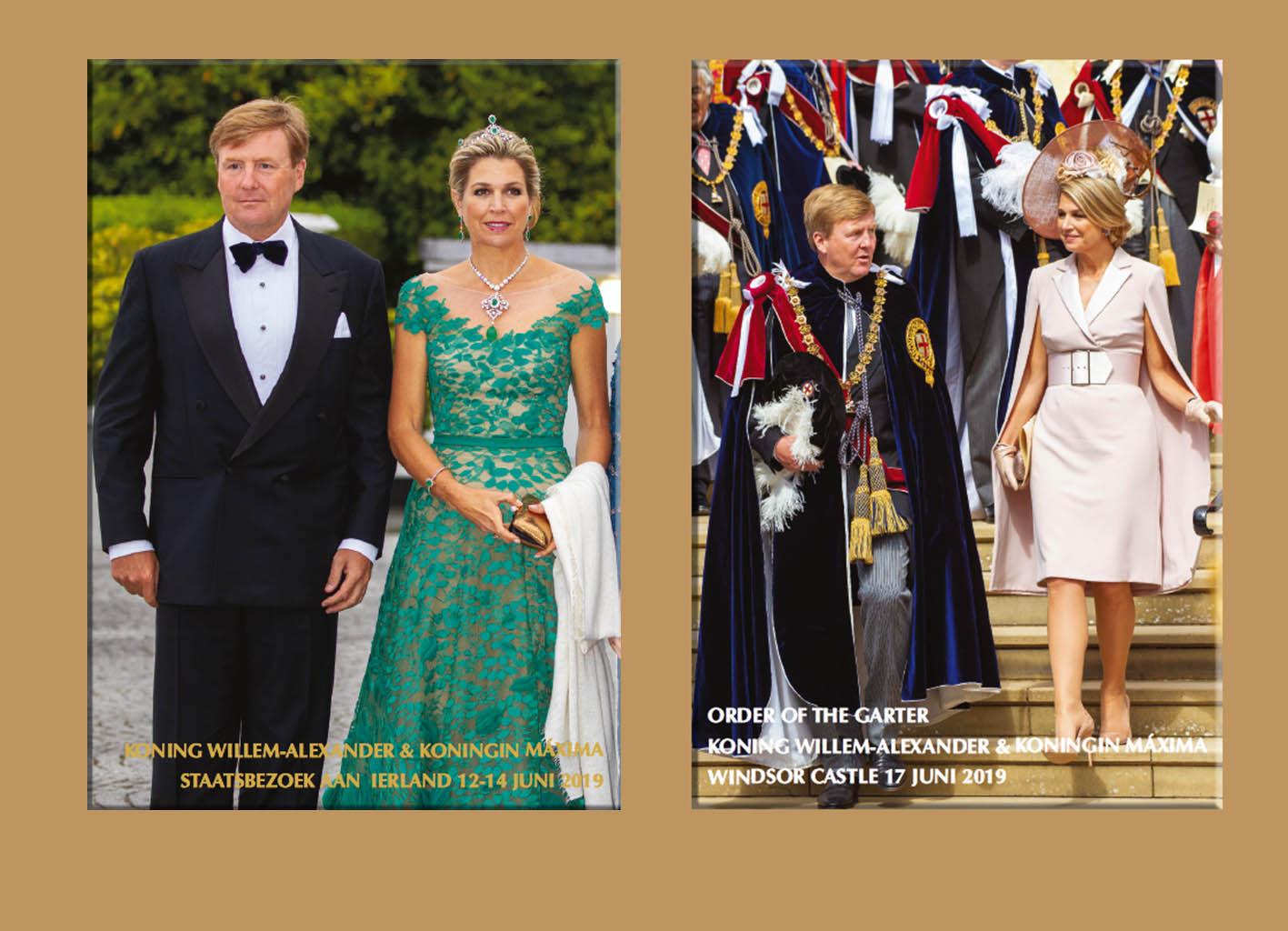 ecfcb3597f2 Twee Foto Magazines formaat A4 voor speciale combideal prijs €37,50 Normale  prijs €42,44. Staatsbezoek Ierland / Order of the Garter & Ascot 2019 20 ...