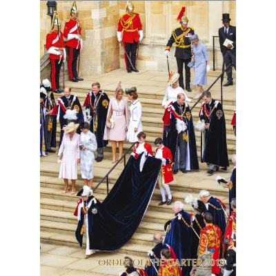 A4 Foto Magazine van Order of the Garter 2019