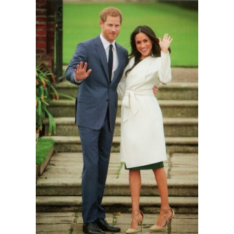 Kaart Duke & Duchess of Sussex